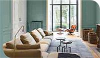 Inrichten van uw woonkamer inclusief meubels