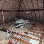 Renovatie van de zolderkamer